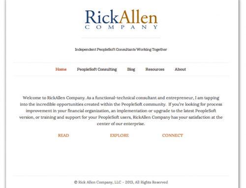 RickAllenCo Website/Blog